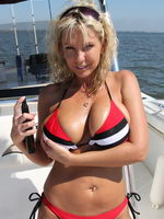 Slutty Akysha Sucks Some Cock And Gets A Good Fucking Whike Out On Her Boat - Picture 6